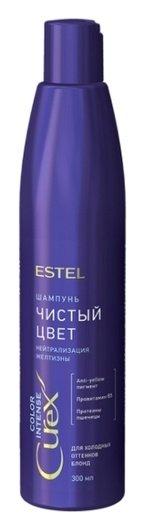 Шампунь для холодных оттенков блонда Чистый цвет color intense  Estel Professional
