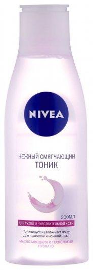 Нежный смягчающий тоник для сухой и чувствительной кожи  Nivea