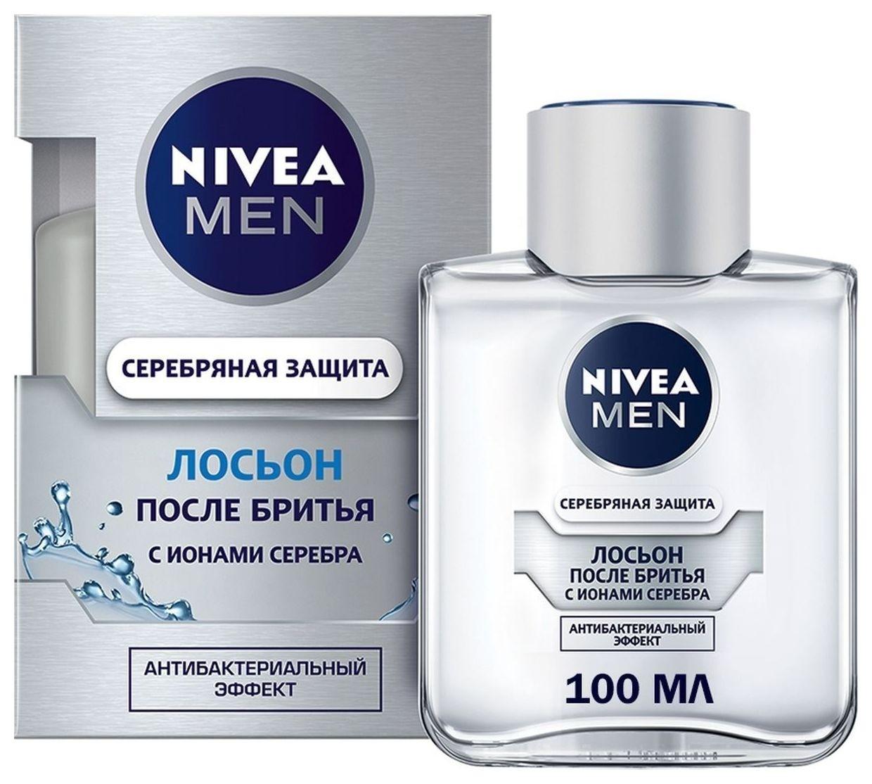 Лосьон после бритья Серебряная защита  Nivea