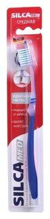 Зубная щетка идеальная чистка средней жесткости  SILCA