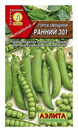 "Семена Горох ""Ранний"" (стандарт)  Аэлита"
