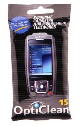 Салфетки для мобильных телефонов Opti Clean