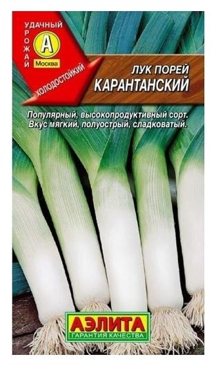 """Семена Лук порей """"Карантанский"""" (стандарт)  Аэлита"""