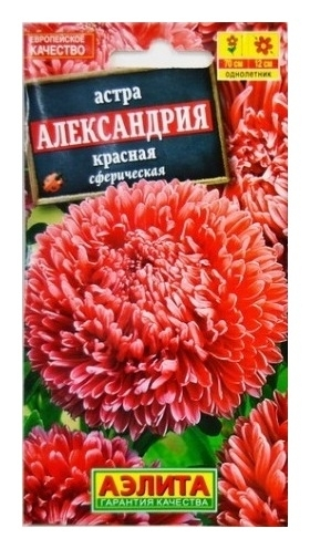 "Семена Астра красная ""Александрия""  Аэлита"