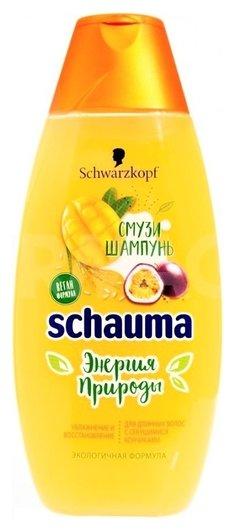 Шампунь для волос Смузи манго, маракуйя и рисовое молочко  Schauma