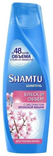 Шампунь для тусклых волос с экстрактом японской вишни  Shamtu