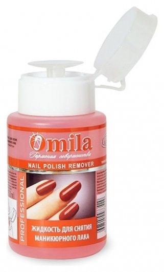Жидкость для снятия лака  Omila