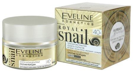 Крем-концентрат против морщин для любого типа кожи 40+ Eveline Cosmetics Royal Snail