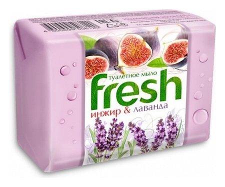 Мыло туалетное Инжир и лаванда  Fresh