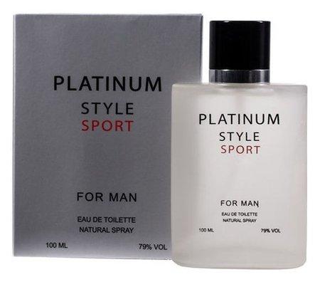 Туалетная вода Platinum Style Sport  Ponti Parfum