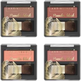 Компактные румяна Powder Blush  Art-visage (Арт визаж)