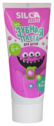 Зубная паста детская со вкусом жвачки SILCA Med