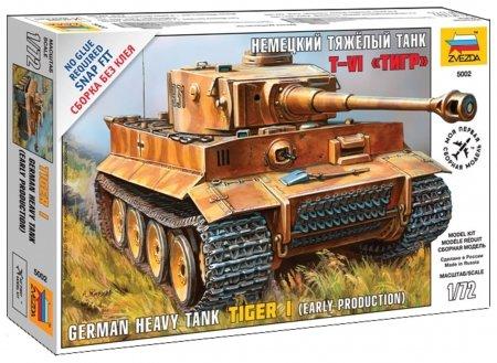 Сборная модель Немецкий тяжёлый танк Тигр Звезда