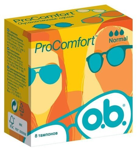 Тампоны ProComfort  O.B.