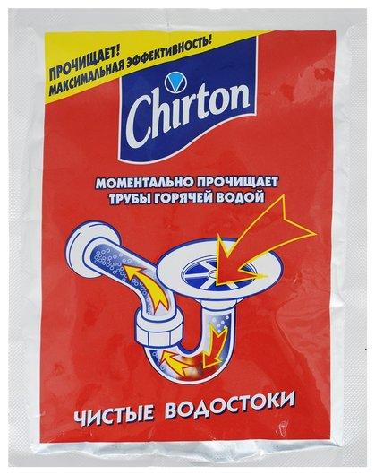 Cредство для прочистки труб горячей водой  Chirton