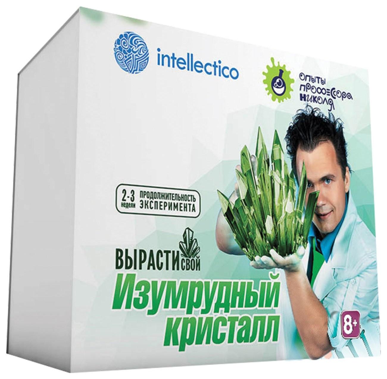 """Набор для выращивания кристаллов """"Изумрудный кристалл""""  Intellectico"""