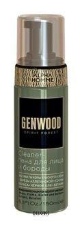 Пена для лица и бороды Cleane Estel Professional Genwood
