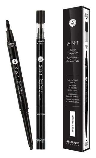 Карандаш-помадка для бровей 2 in 1 Brow Perfecter Absolute New York