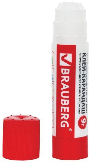 Клей-карандаш BRAUBERG, 9г  Brauberg