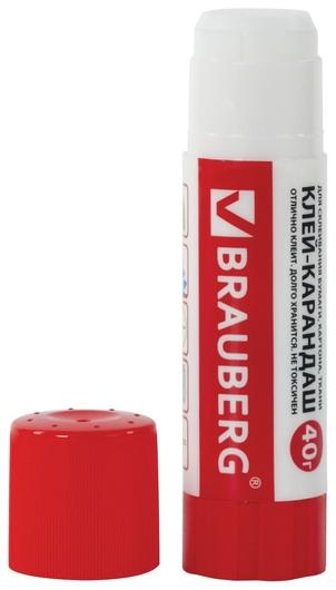 Клей-карандаш Brauberg, 40гр  Brauberg
