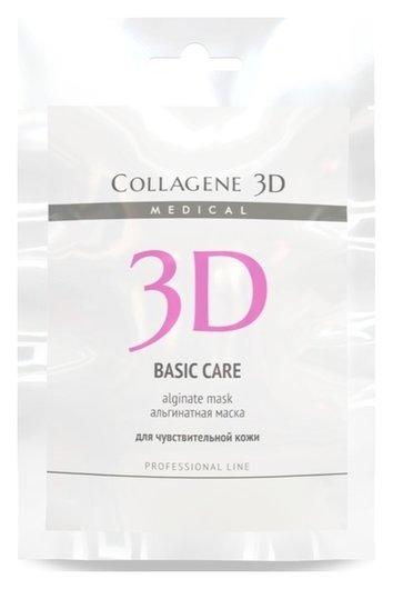 Альгинатная маска для лица и тела Anti Wrinkle с экстрактом спирулины  Medical Collagene 3D