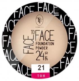Пудра для лица Face To Face Foundation Powder 24 SPF 10 Триумф