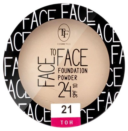 Пудра для лица Face To Face Foundation Powder 24 SPF 10  Триумф