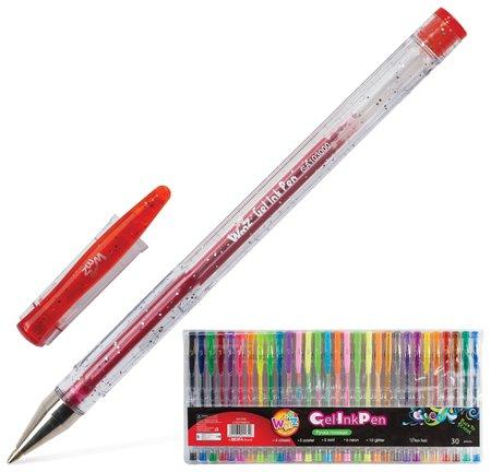 """Ручки гелевые Beifa (Бэйфа) набор 30 шт., ассорти, """"Wmz"""", узел 0,9 мм, линия письма 0,7 мм  Beifa"""