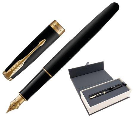 Ручка перьевая Core Matt Black Gt  Parker