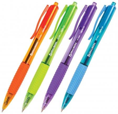Ручка шариковая автоматическая Fruity Rd  Brauberg