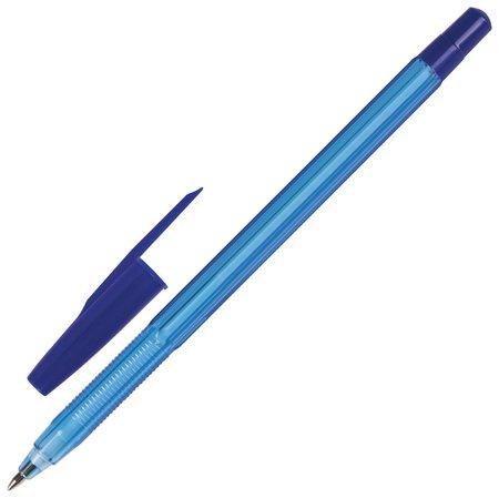Ручка шариковая масляная Brauberg Assistant, синяя, корпус тонированный, пишущий узел 0,7 мм, линия письма 0,35 мм Brauberg
