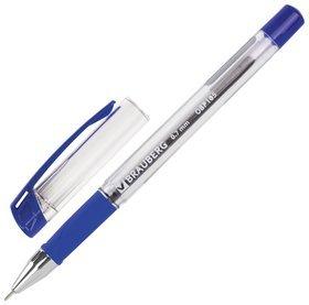 """Ручка шариковая масляная с грипом Brauberg """"Active"""", синяя, узел 0,7 мм, линия письма 0,35 мм  Brauberg"""