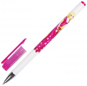 """Ручка шариковая Brauberg """"Леди"""", синяя, корпус с печатью, узел 0,7 мм, линия письма 0,35 мм  Brauberg"""
