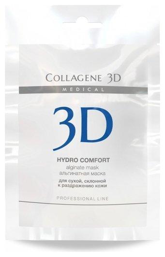 Альгинатная маска для лица и тела Hydro Comfort с экстрактом алое вера  Medical Collagene 3D