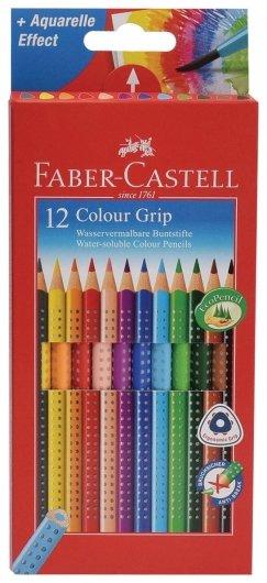 Карандаши цветные 12 цветов Grip  Faber-castell