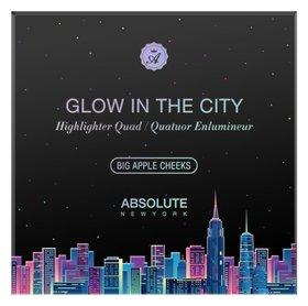 Палетка для макияжа Glow In The City Big Apple Cheeks  Absolute New York
