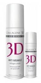 Крем для лица Anti Wrinkle с плацентолью, коррекция возрастных изменений для зрелой кожи