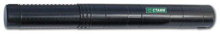 Тубус для чертежей СТАММ телескопический, диаметр 6 см, А2, 40-70 см, черный   Стамм