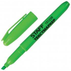 Текстовыделитель зеленый  Staff
