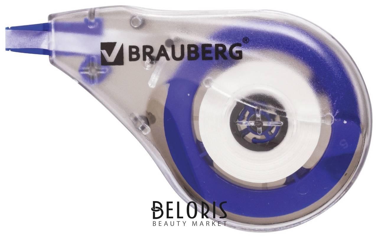 Корректирующая лента Brauberg, 4 мм х 8 м, в упаковке с европодвесом Brauberg