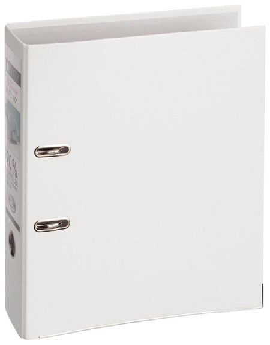 Папка-регистратор Leitz, механизм 180°, покрытие пластик, 80 мм, белая  Leitz
