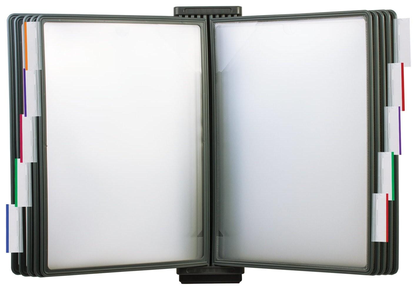 Демосистема настенная/расширительный модуль для 231234, с 10 серыми панелями А4, Brauberg  Brauberg