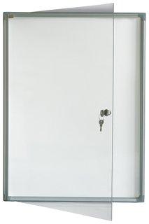 """Доска-витрина магнитно-маркерная, 2 листа А4, алюминиевая рамка, OFFICE, """"2х3""""   2x3"""