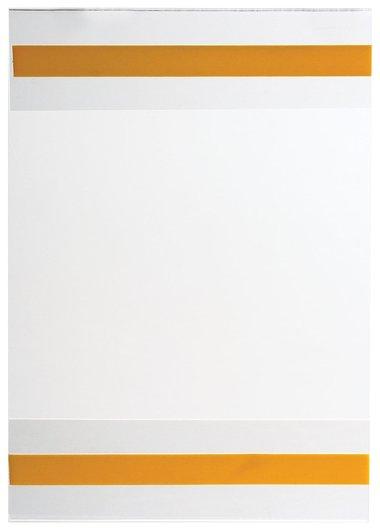 Карманы информационные самоклеящиеся PS-T, А6, вертикальные, комплект 10 шт., ПЭТ, толщина 0,3 мм  КНР