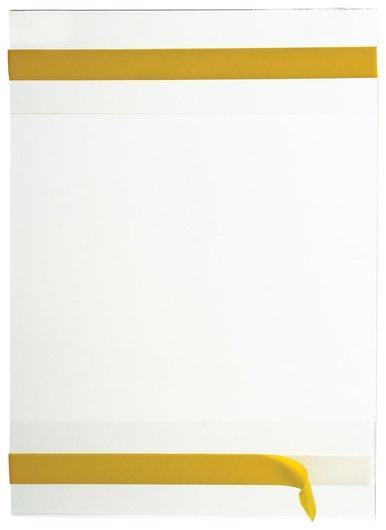Карманы информационные самоклеящиеся PS-T, А5, вертикальные, комплект 10 шт., ПЭТ, толщина 0,3 мм  КНР