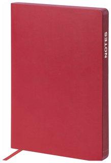 """Ежедневник недатированный А5 (148х218 мм) Galant """"Bastian"""", 160 л., гладкая кожа, цветной срез, бордовый  Galant"""