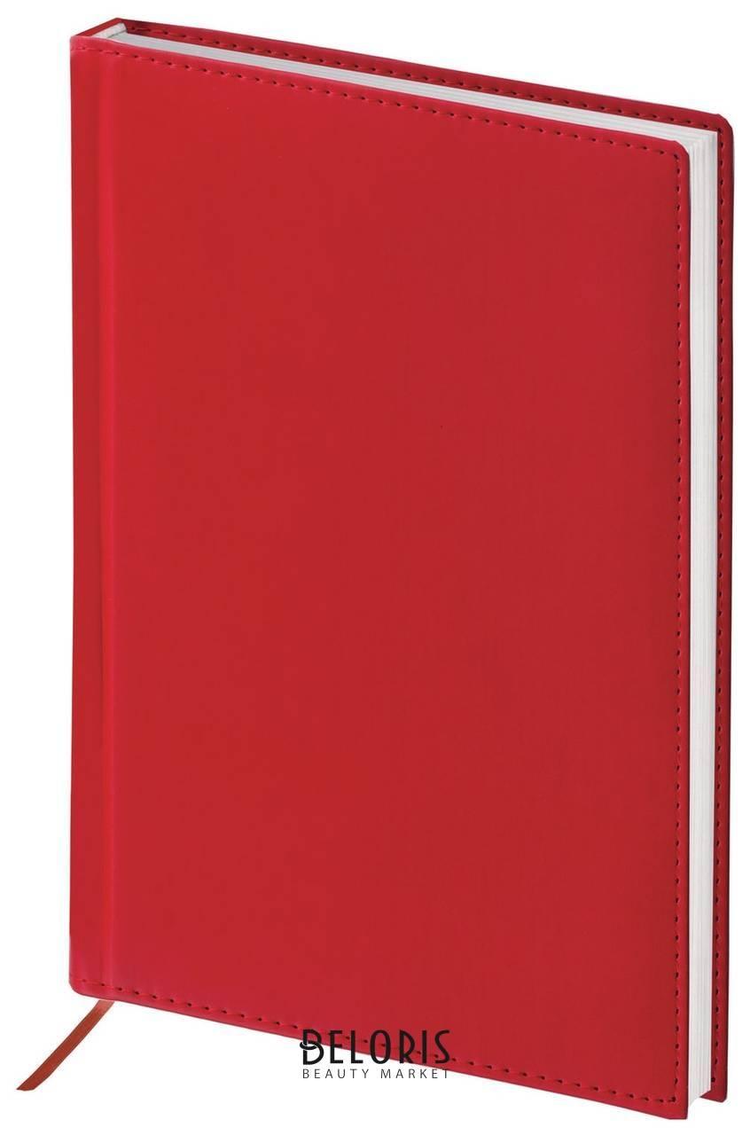 Ежедневник полудатированный А5 (138х213 мм) Brauberg New York, под гладкую кожу, 192 л., бордовый Brauberg