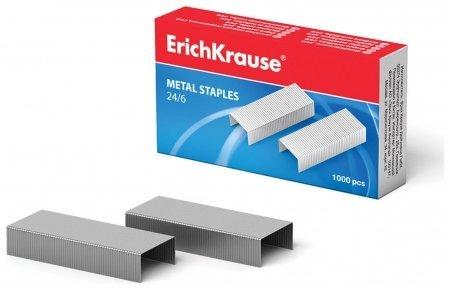 Скобы для степлера №24/6 до 20 листов Erich krause