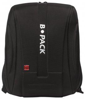 """Рюкзак B-pack """"S-05"""" универсальный, с отделением для ноутбука, жесткий корпус, черный, 45х32х18 см  B-pack"""