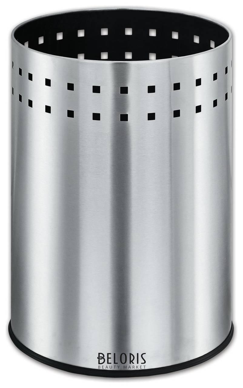 Корзина металлическая для мусора Лайма Bionic, 12 л, матовая, перфорированная, несгораемая Лайма